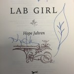 "Announcing @Biotropica's Global Student Book Club! #1: @HopeJahren's ""Lab Girl"""