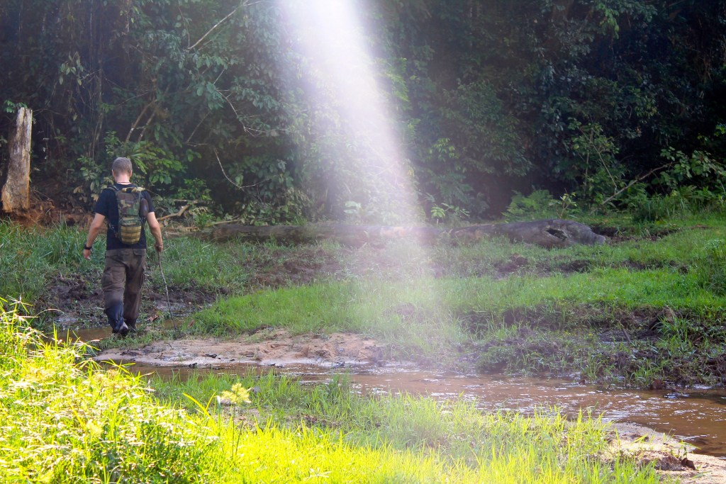 """Patrol day one turns out to be day one of the rainy season"" (Photo courtesy of Sandiscovery)"