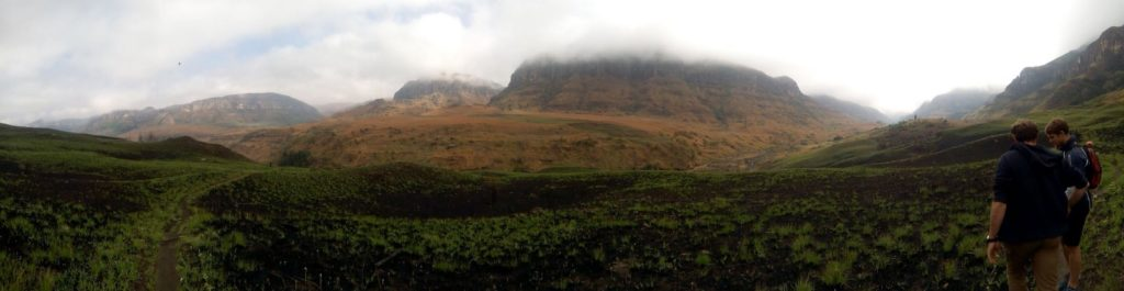 Hiking in the Drakensberg