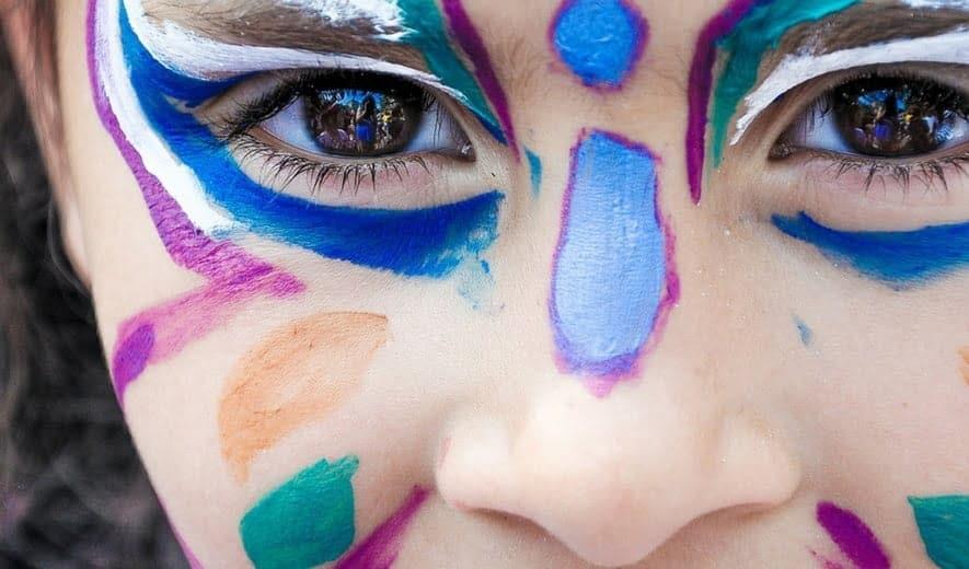 Maquillaje de carnaval para niños
