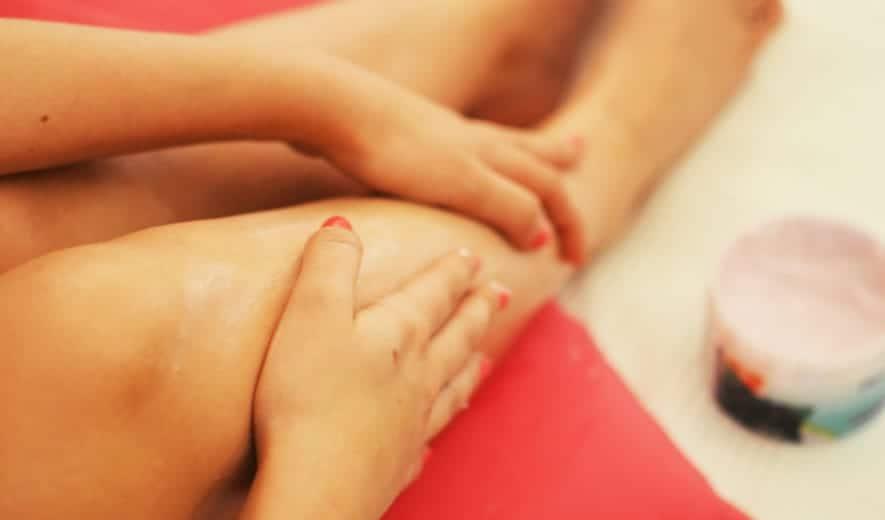 Hidratar codos y rodillas