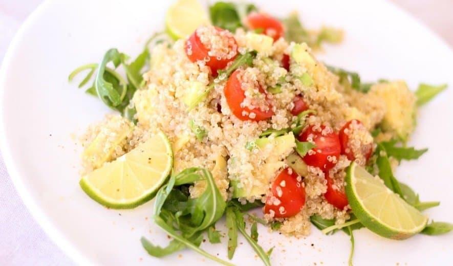 Quinoa: uno de los alimentos buenos para la piel de la cara