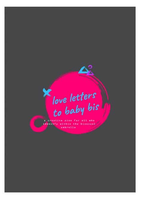 love letters to baby bi's zine art