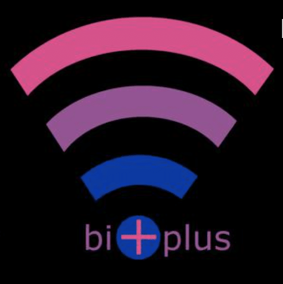 Bi + Plus podcast cover art