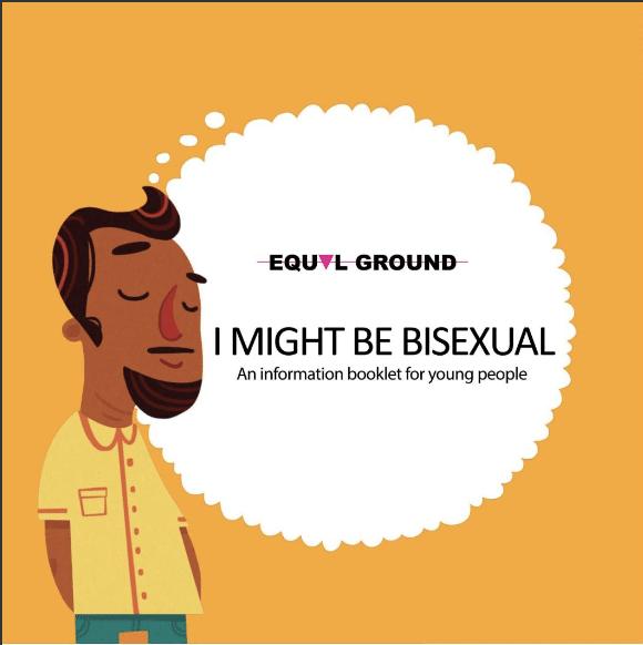 i might be bisexual zine art