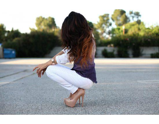 Картинки девушек на аву красивые крутые со спины (41 фото ...