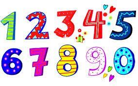 Картинки красивые цифры (12 фото) • Прикольные картинки и юмор