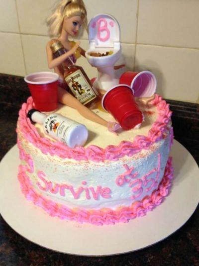 Прикольные торты на день рождения подруге (35 фото ...