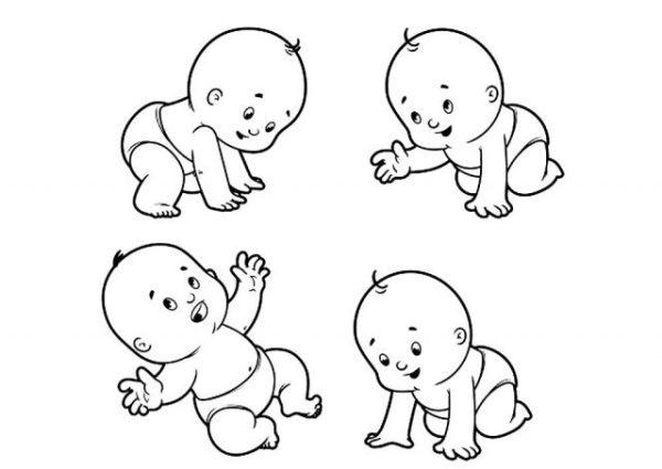 Рисунки карандашом лицо младенца (31 фото) • Прикольные ...
