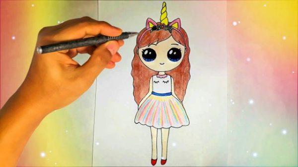 Няшные картинки для срисовки девочки (29 фото ...