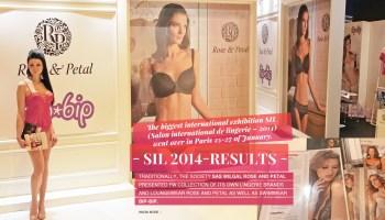 Bip Bip and Rose&Petal – Salon International de la Lingerie 2014
