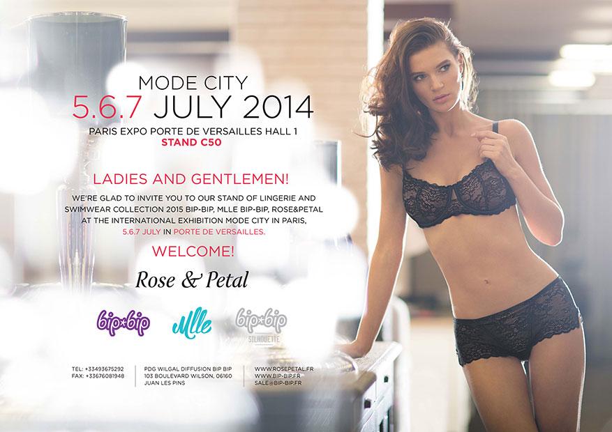 Mode City Paris 2014 – Invitation