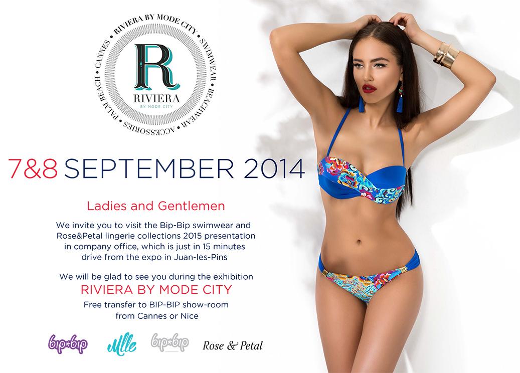 Riviera by Mode City 2014 – Invitation