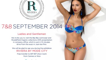 Riviera by Mode City 2014 – Invitation