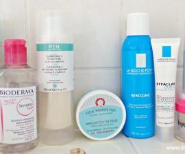 Các bước skincare cho da dầu mụn ẩn nhạy cảm