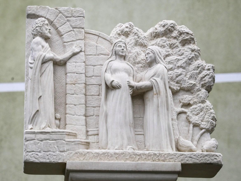Radosna otajstva, II. postaja - Pohođenje Blažene Djevice Marije sv. Elizabeti