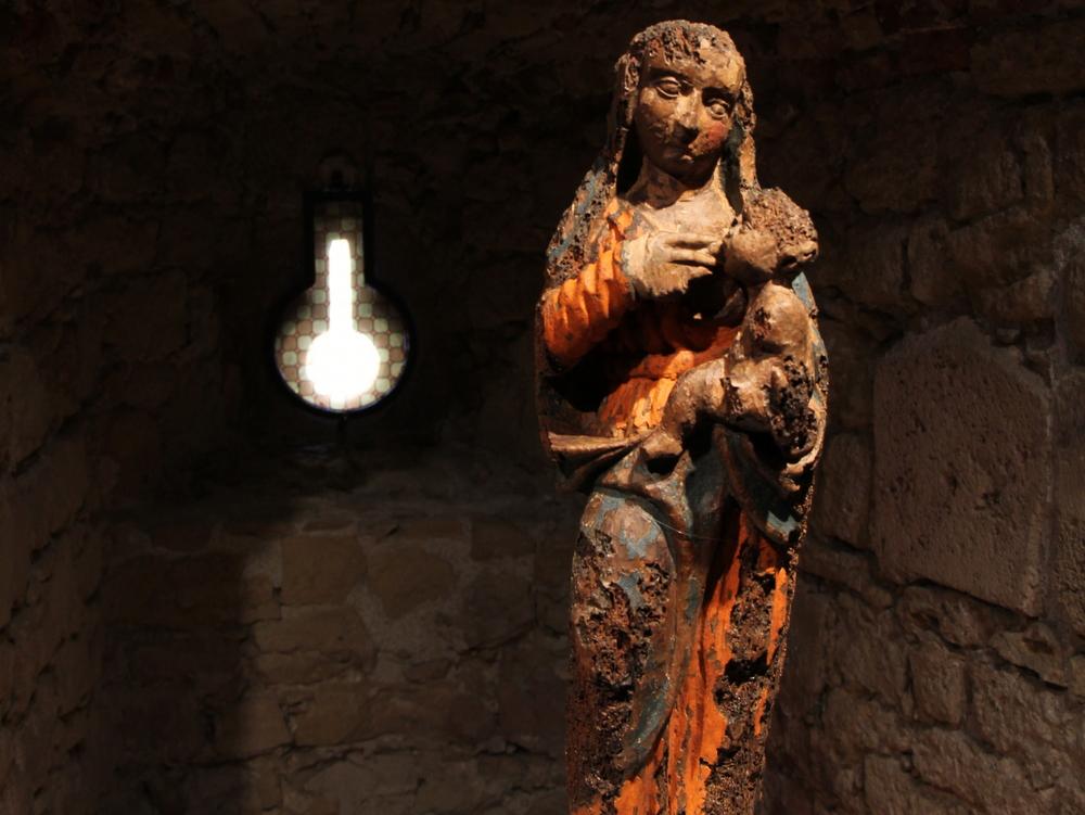 Bogorodica s djetetom, područje Koprivnice, XVI. - XVII. st. ?.