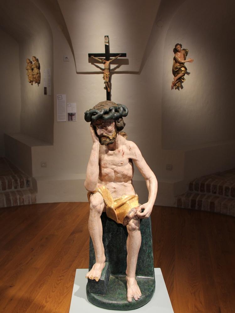 Tužni Krist, Krapje, župna crkva sv. Antuna Padovanskog, XVIII. st.