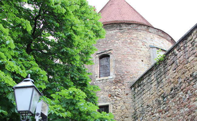 Domitrovićeva kula kraj katedrale.