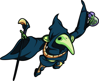 Plague Knight (Image credit to Yacht Club Games, retrieved from their Shovel Knight press kit)