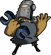Tinker Knight (Image credit to Yacht Club Games, retrieved from their Shovel Knight press kit)