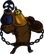 Treasure Knight (Image credit to Yacht Club Games, retrieved from their Shovel Knight press kit)