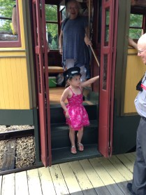 The youngest trolley conductor we know