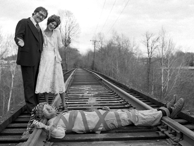 Larry Gets a Train for Christmas, 1977
