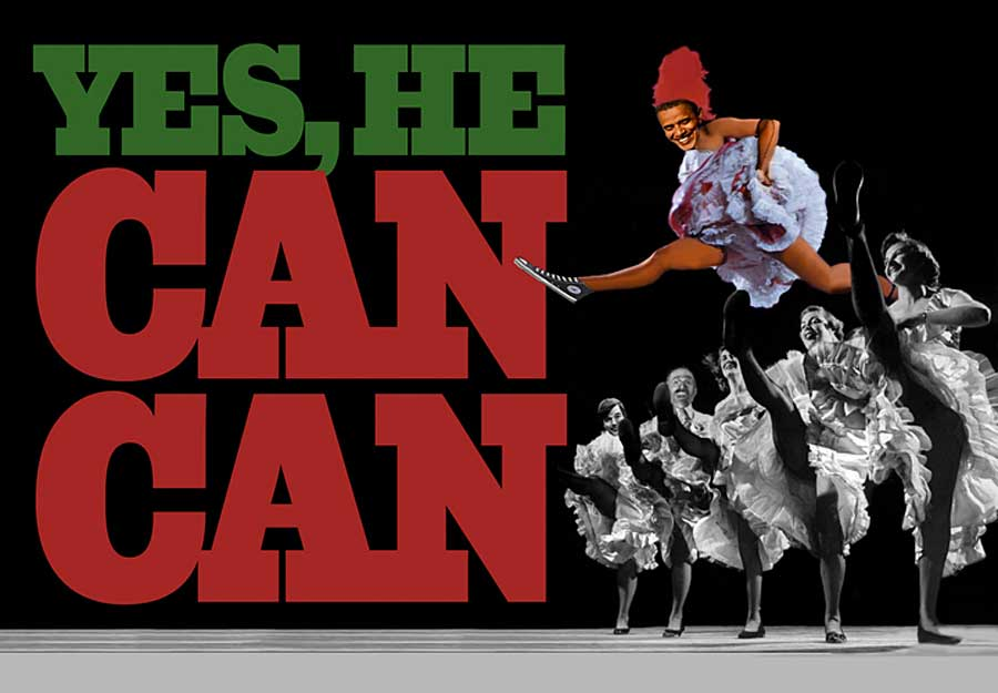 Obama Can Can