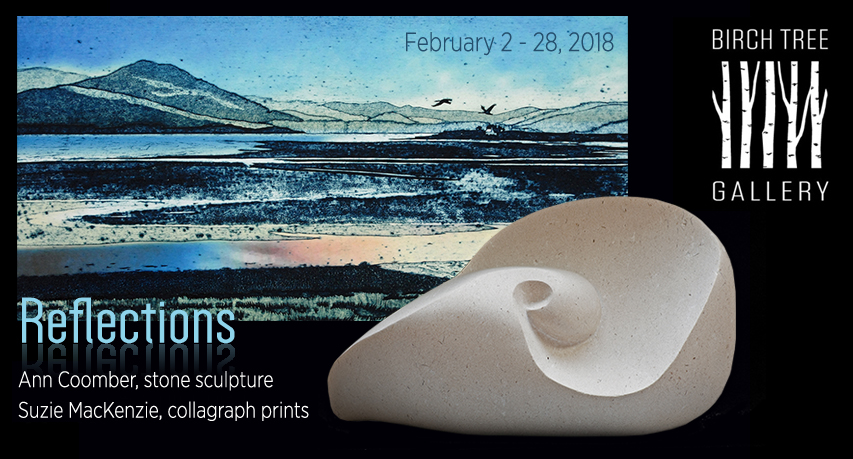 Birch Tree Gallery. Exhibition 'Reflections' February 2018