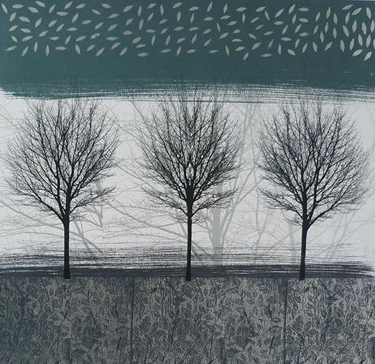Anne Skinner. Land Series 8- Trio