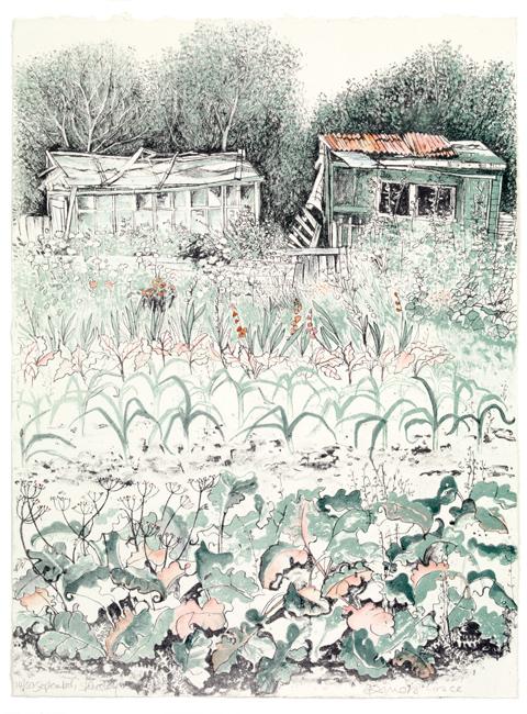 Pamela Grace - September, Stokesley (lithograph)