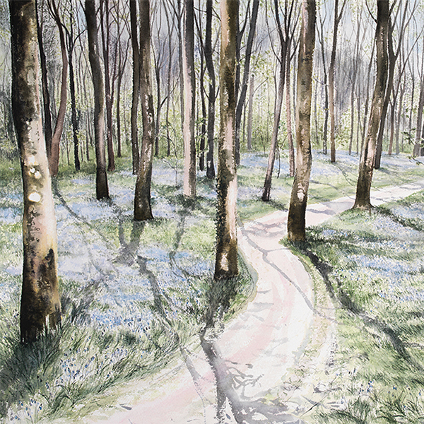 Pamela Grace. Woods in Spring (detail)