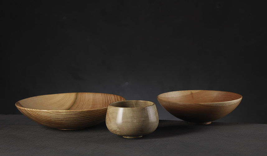 Tony King. Holly and Elm bowls (ph: Shannon Tofts)