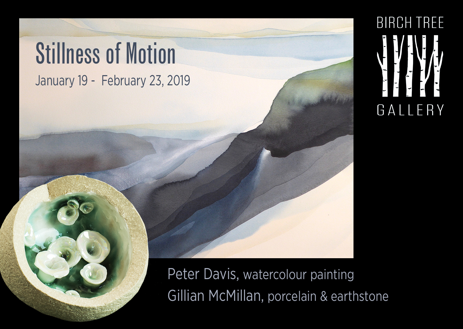 Birch Tree Gallery - ad Stillness of Motion