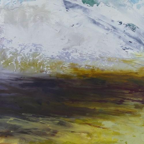 Libby Scott, The Land Shifts, 38 x 38cm
