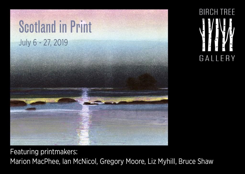 Birch Tree Gallery - ad Scotland in Print