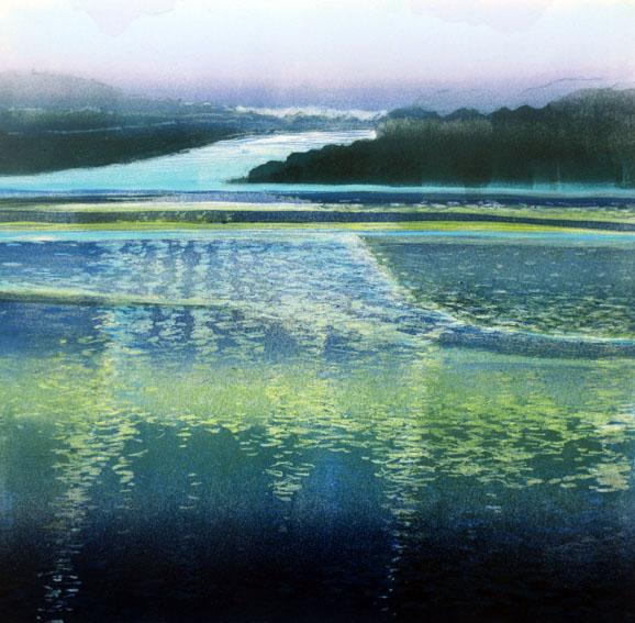 Ian McNicol. Scottish Loch 4 - monotype