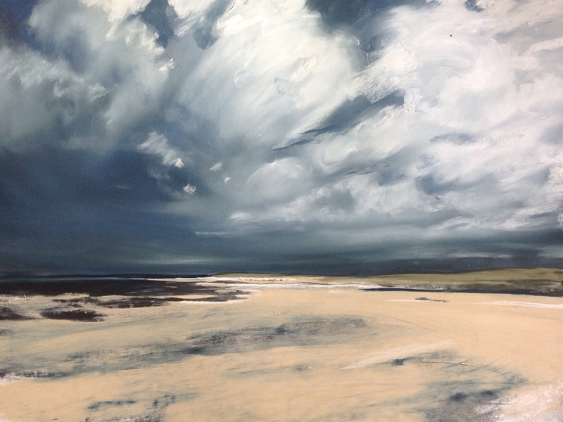 Helen Fryer. Sanna Sky. 64x47.