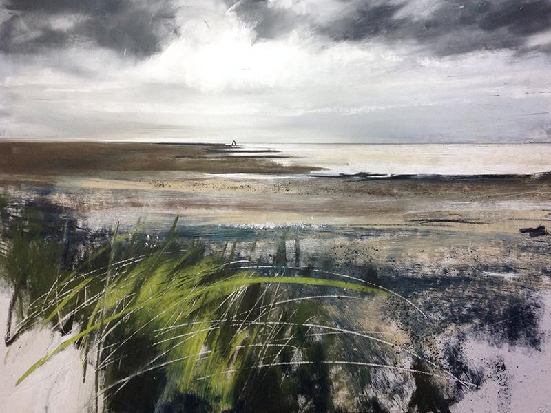 Helen Fryer. West Beach Silloth. 62x42.
