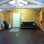 Caribou Cabin, open room