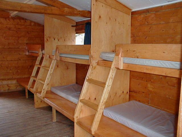 bunk bed plans cabin