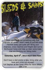 Sleds & Saws Flyer