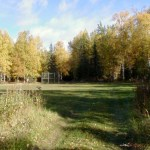 The ball field, great for large group games & activities