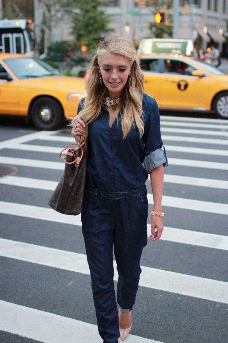 jumpsuit fashion week street style