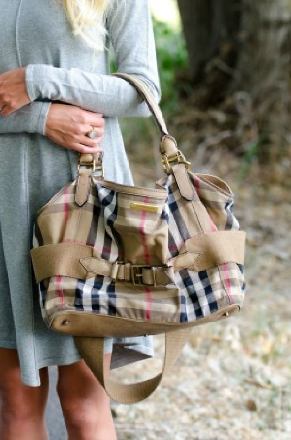 burberry-diaper bag