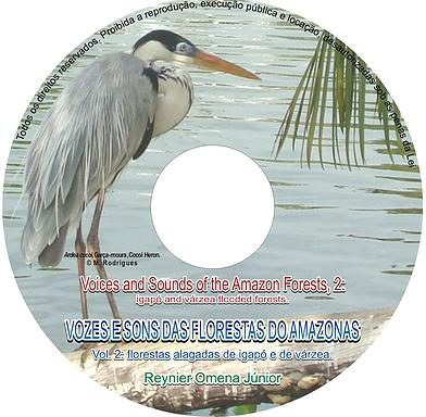 CD VOZES E SONS DAS FLORESTAS DO AMAZONAS, VOL. 2