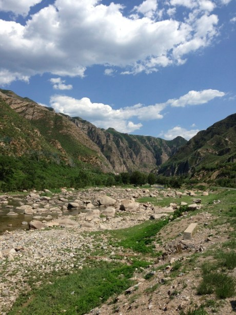 The Yongding Valley. One of Beijing's hidden treasures.