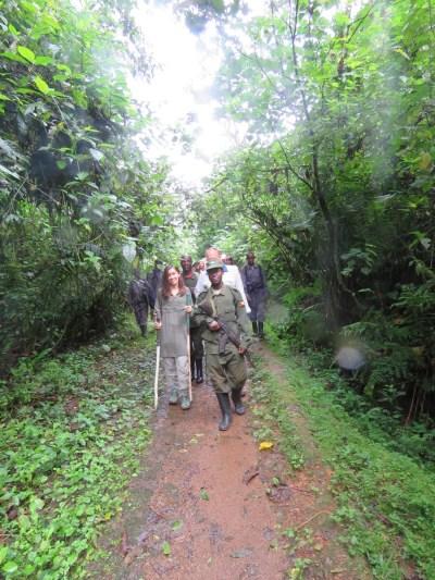 2015-11-15 group hiking