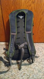 Daylite - vented back and sternum strap make this an ideal day pack.